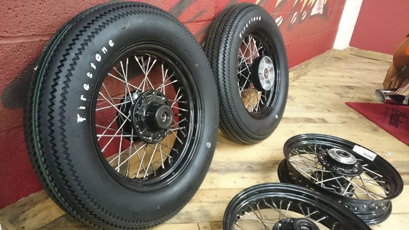 Firestone Motorcycle Tyre 500 X 16 Moore Speed Racing